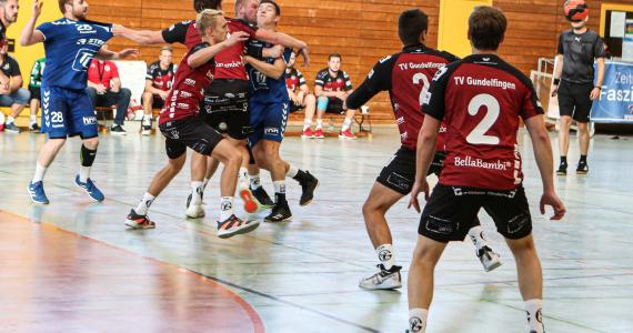 Sep 2021: TV Gundelfingen vs. TSV Herrsching