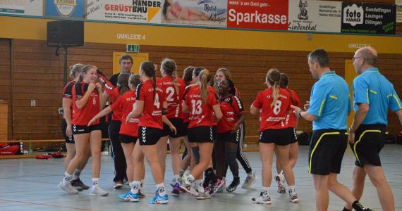 2018-10-07 Damen I – VfL Günzburg 23:22